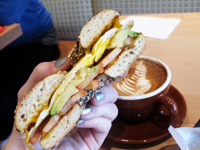 Temptations Bagel Breakfast Sandwich