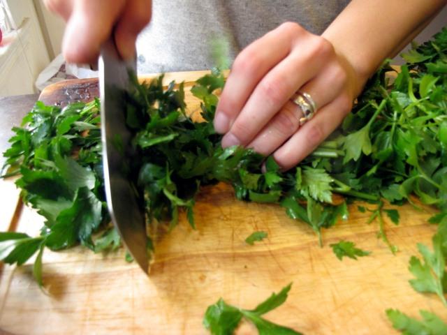 BBQ parsley