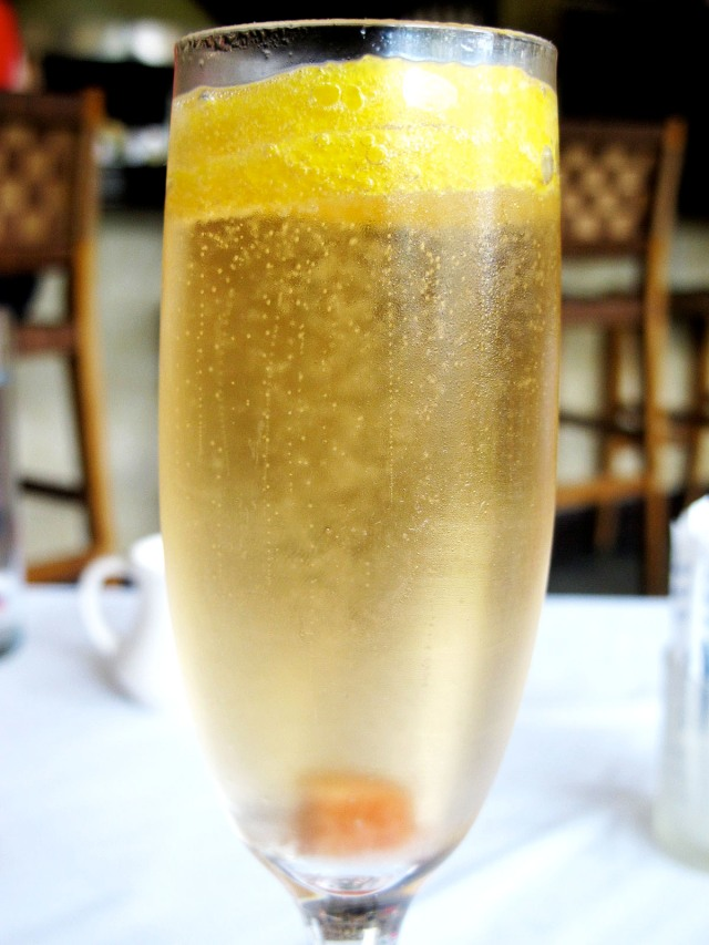 lineage champagne cocktail