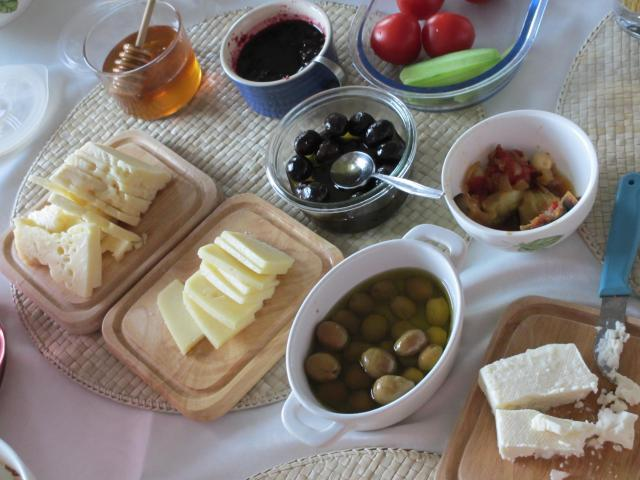 turkish cheese plate