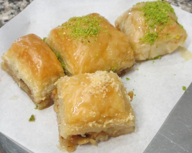 baklava in istanbul