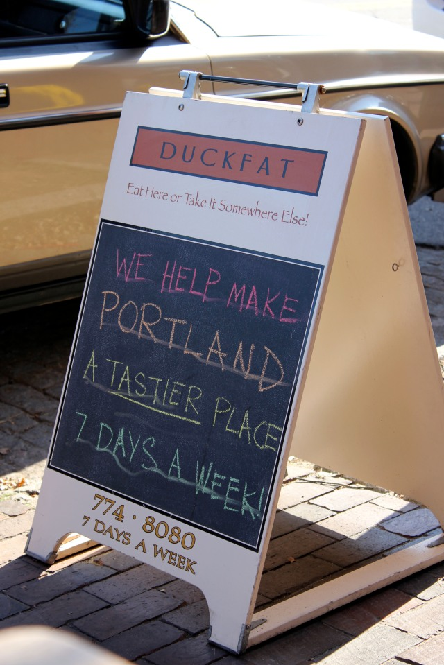 duckfat sign