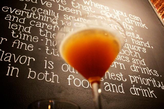 rye baltimore martini
