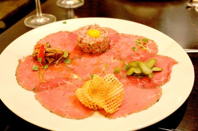 deuxave beef carpaccio