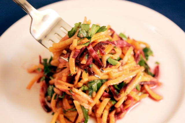 balsamic carrot salad