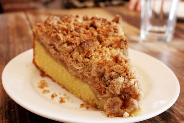 the kitchen coffee cake