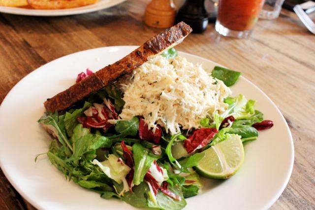 the kitchen crab salad