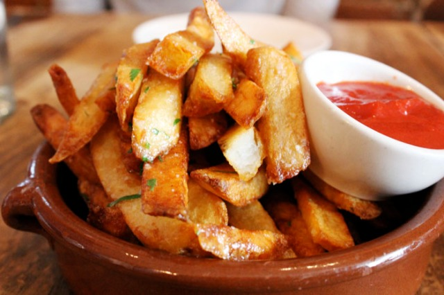 the kitchen fries