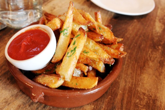the kitchen french fries