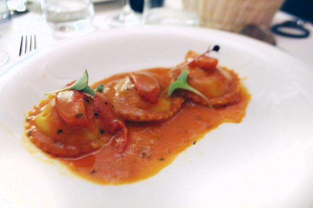 rockfish ravioli