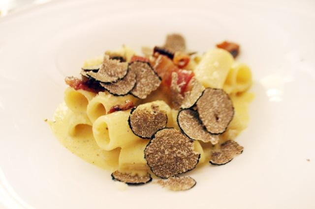 truffle carbonara